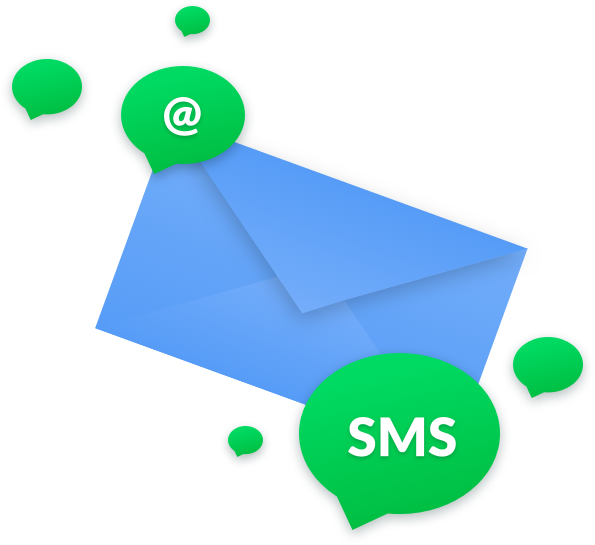 Email & SMS lists